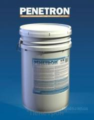 Additive in concrete the Penetron, Admiks Cristal