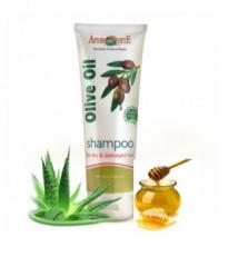 The dry and injured hair shampoo with honey and