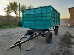Тракторный прицеп 2ПТС-4 на тягах, ...