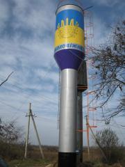 Водонапорная башня системы Рожновского ВБР-15