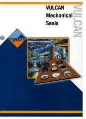 Consolidations face/mechanical VULCAN, AESSEAL,