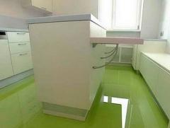Bulk polyurethane floors, Kiev