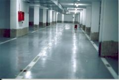 Dust removal of concrete floors, Pentra technology