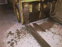 Protection of a concrete floor - Pentra-Protect,