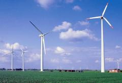 Home and industrial wind-driven generators, wind