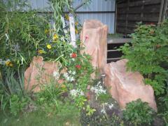 Decorative artificial stone for a landscape