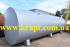 Reservoirs, tanks vertical, horizontal of 2,5 -