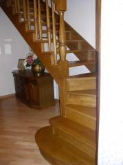 Ladders Kiev Oak Beech