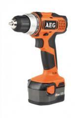 The accumulator drill screw gun of AEG BS 12 G