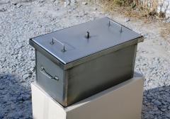 Коптильня, коптильня с гидрозатвором для горячего
