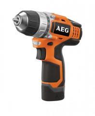 The accumulator drill screw gun of AEG BS 12C2 Li