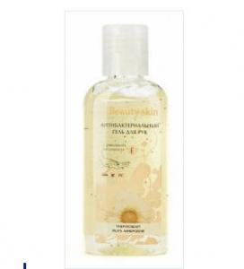 Antibacterial hand gel with a camomile and