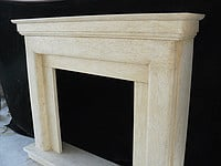 Fireplaces from natural marble