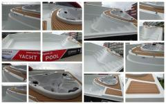 Composite pool of COMPASS POOLS Yacht pool 115