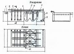 Compact KU-200 sewage treatment unit.