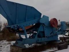 Mobile crushing and sorting SM-739 installation