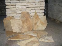 Stone sandstone raw.