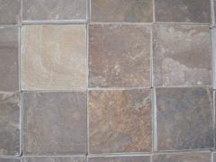 Stone blocks with a facet 45