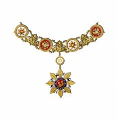 Collar: a symbol of the power, a chain with a