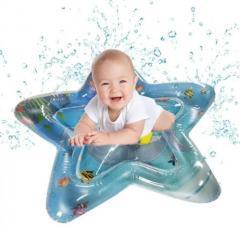 Развивающий игровой детский водный надувной коврик