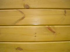 Фальш-брус (имитация бруса) из житомирской сосны.