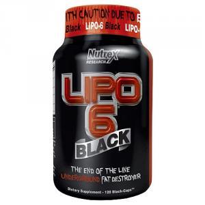 Сжигатель жира Lipo 6 Black