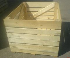 Ящики деревянные для овощей и фруктов, контейнер