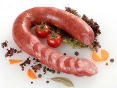 Sausage half-smoked Krakow premium