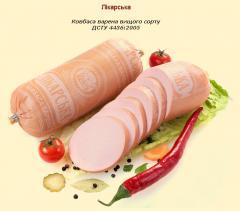 Doctor's. Sausage boiled DSTU 4436:2005