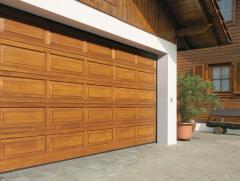 Garage gate of Hormann