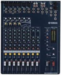 Mixers the Yamaha, the Mixer Yamaha MG124C panel