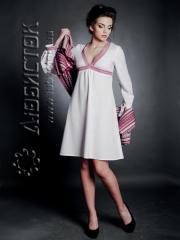 Платья вышитые,  Вишите модне плаття ЖП 48-22