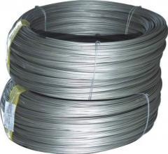 Wire steel a class of BP-1 for an armirovaniiya of