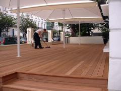 Composite terrace board