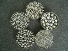 Spheres from ShH-15 steel