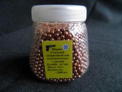 Spheres copperplated from Victoria, Ltd company