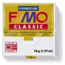 Полимерная глина FIMO Classic №0 (белый) 56г.