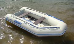 Легкие надувные моторные лодки, вместимостью до 4