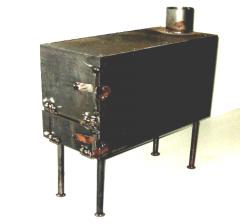 Печь Буржуйка для дачи металлическая от производителя.