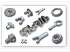 Forgings from constructional steel, own production
