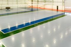 The coverings which are self-leveled floors bulk
