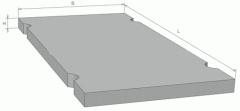 Плиты дорожные 2П 30-12 железобетонные