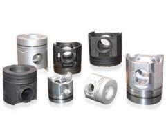 Pistons are diesel. Wholesale trade in piston