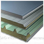 Panel sandwich wall and roofing