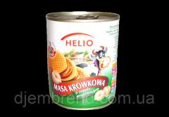 Сгущенное молоко Helio с ореховым вкусом, без