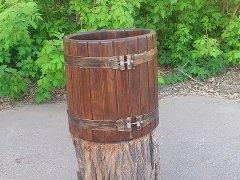 Decorative barrels, Oak barrels Dnipropetrovsk,