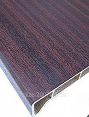 Подоконник древесно-полимерный  глянцевое покрытие