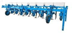 Cultivator of interrow processing of hinged KMN -