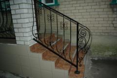 Balcony handrail a metal, Balkonnny handrail metal