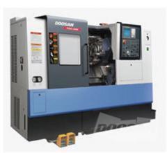 The machine horizontally turning with ChPU the